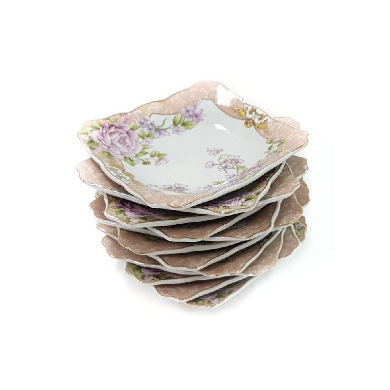 Vicenza Tableware Small Square Plate B423 Magnolia (1 Lusin)