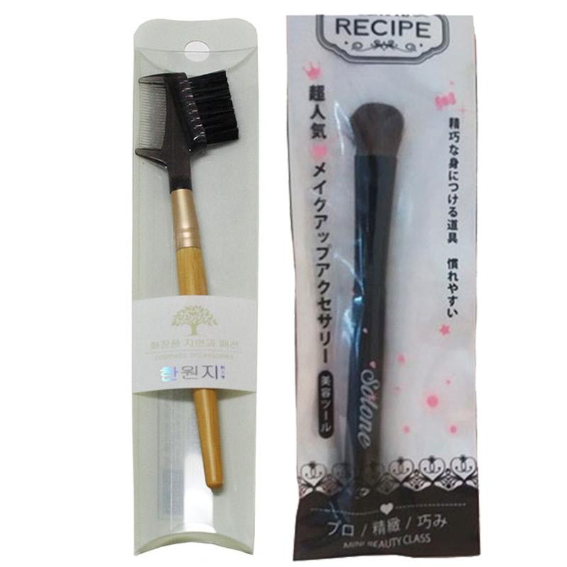 Beaute Recipe Big Brush + Beaute Recipe Eyelash Comb