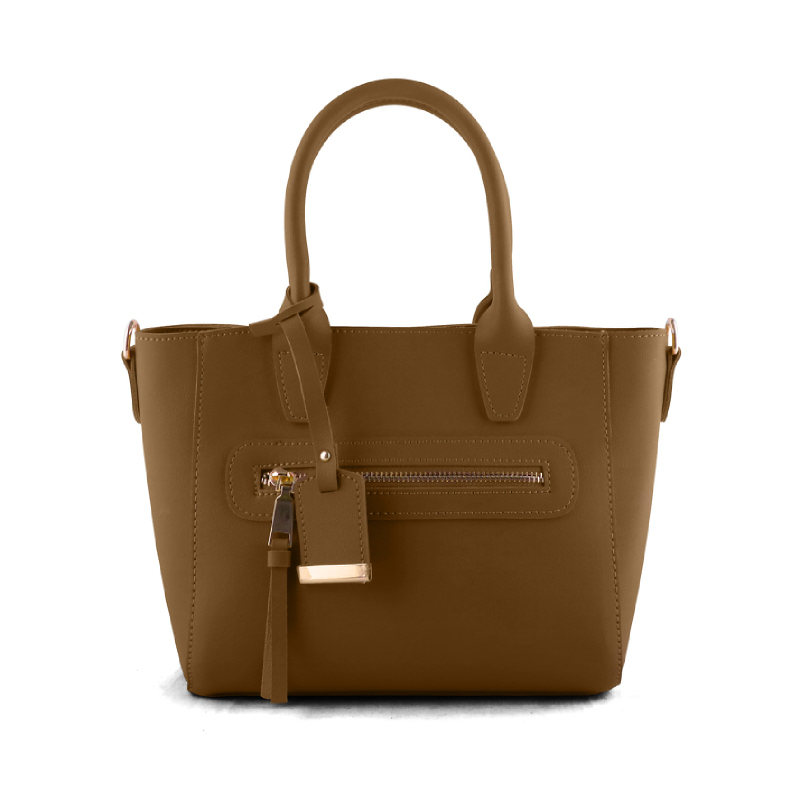 AliveLoveArts Winwin Hand-Sling Bags Tan-Camel