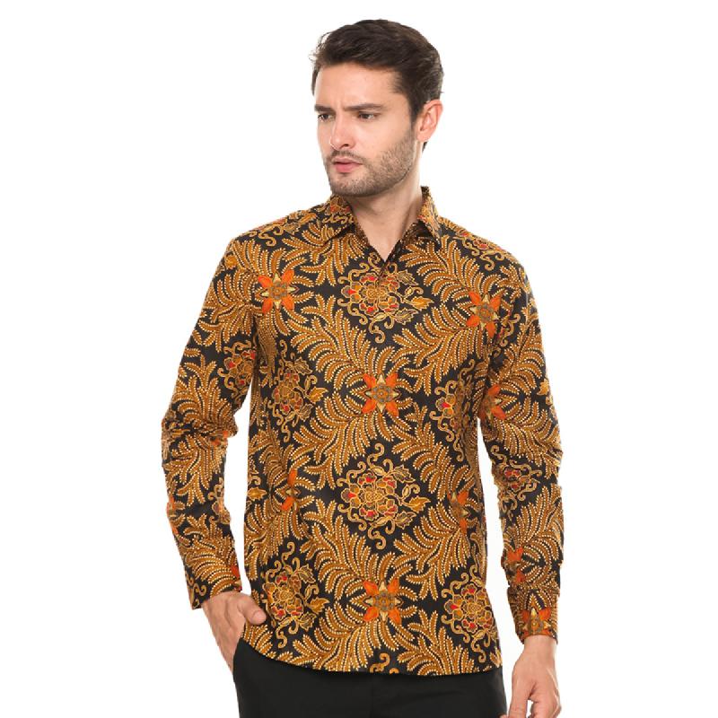 Agrapana Batik Lengan Panjang 101.02.173.2.1.Coklat