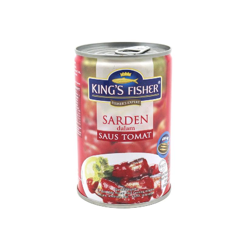 King S Fisher Sardine Tomat 155 Gr