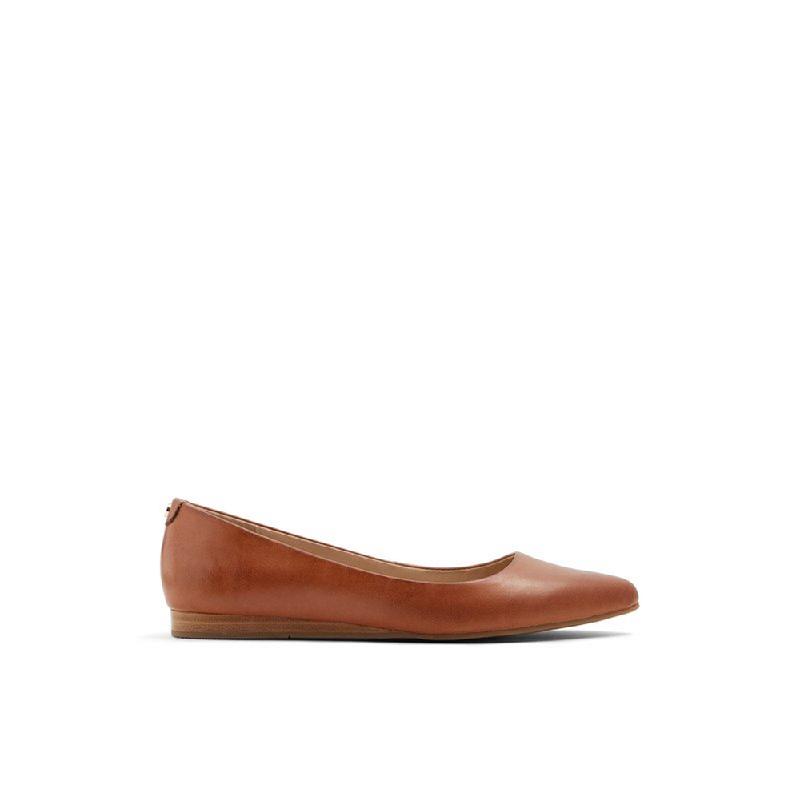Aldo Ladies Flat Shoes Zareni 220 Cognac