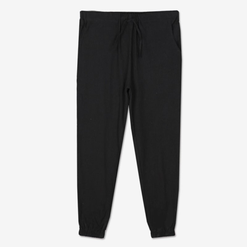 Banding Jogger Pants(PT313) - BLACK