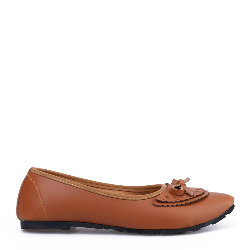 Anyolorich Flat Shoes BL06-Tan