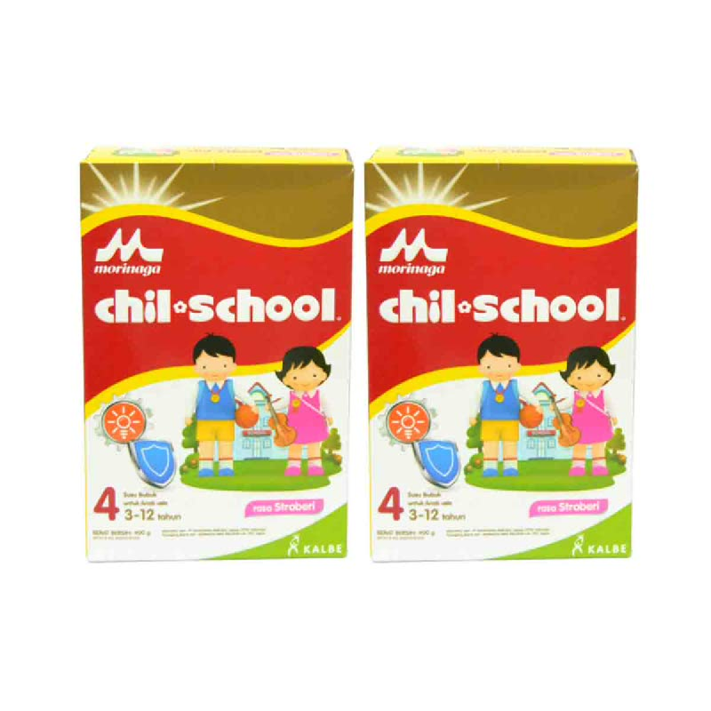 Chil School Dha Strawberry 800G (Get 2)