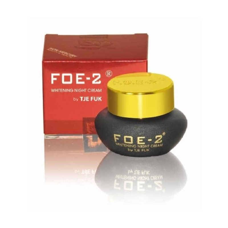 Tje Fuk FOE-2 Whitening Night Cream - 15 gr