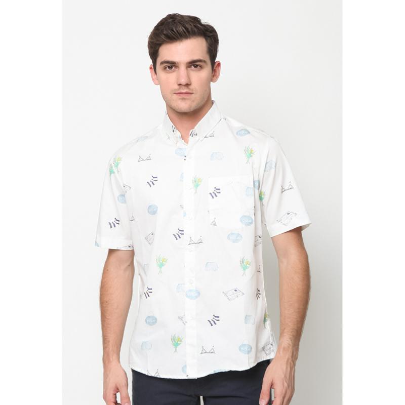 17Seven Shirts Shortshirt Zadar White