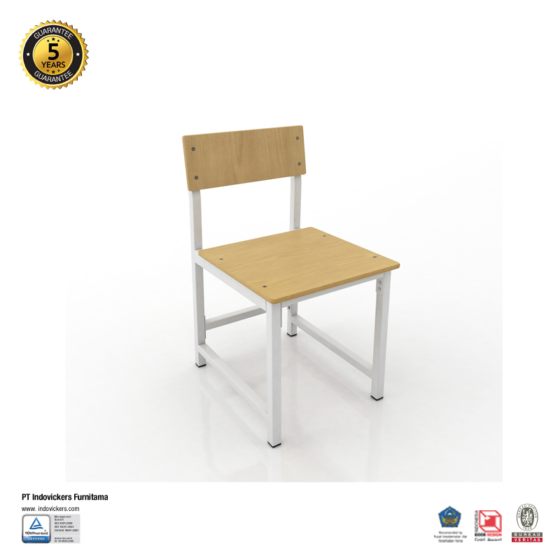 Kursi Belajar - Ivy Secondary Chair - 445 x 496 x 750mm - Indovickers