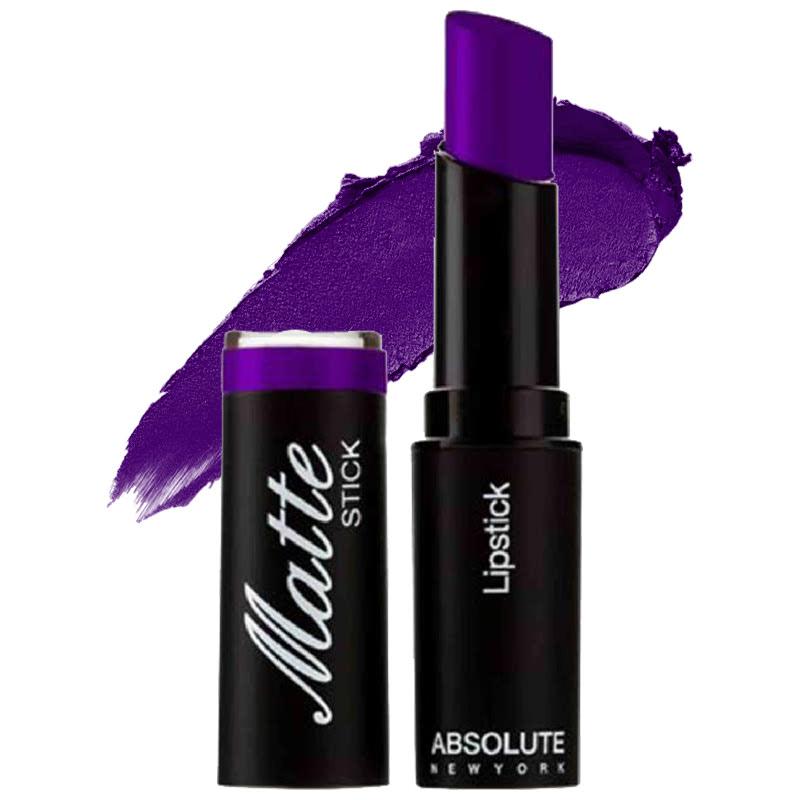 Absolute New York Matte Stick Lipstick Purpleheart