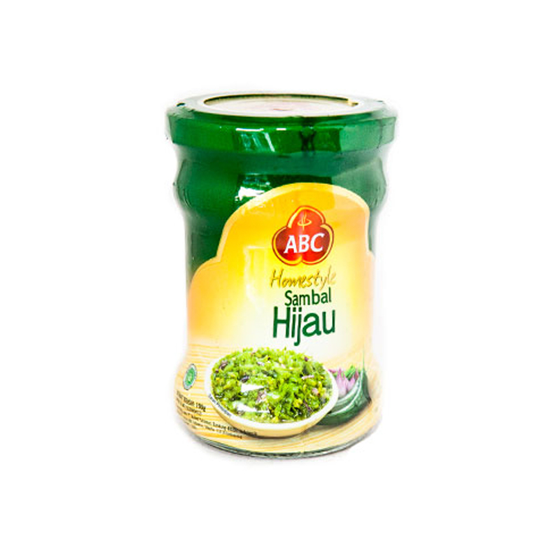 Abc Sambal Hijau Jar 190Ml