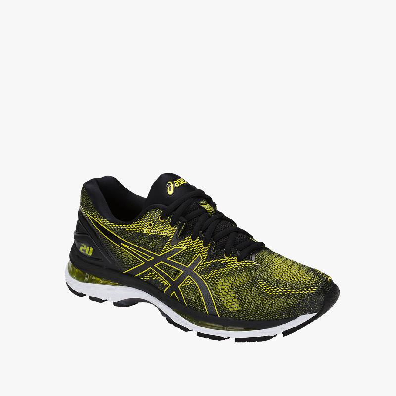 Asics Gel-Nimbus 20 Men's Running Shoes - Standard Wide Yellow