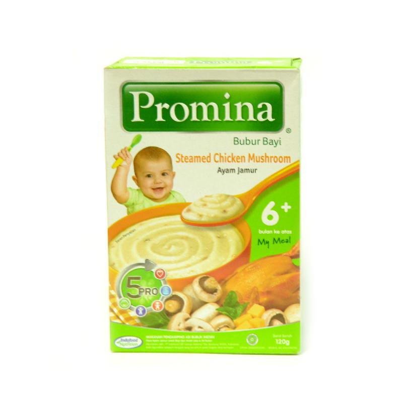 Promina Bubur Bayi Rasa Ayam Jamur Box 120 Gr