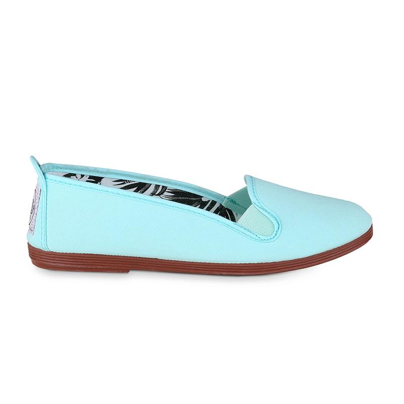 Flossy Mijas Slip On Aqua  Blue