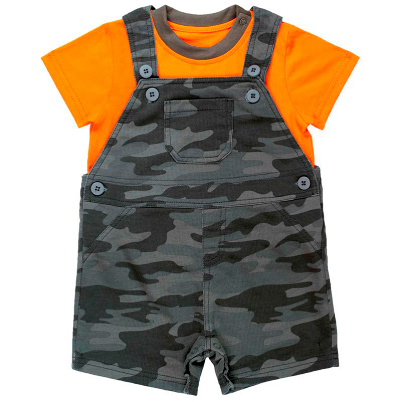 Torio Mommy's Lil Soldier Overall Set