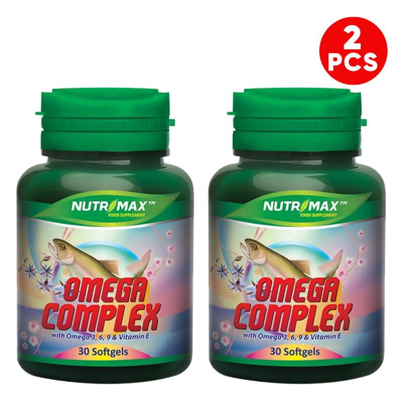 Buy 2 Bottle Nutrimax Omega Complex 30 Softgel