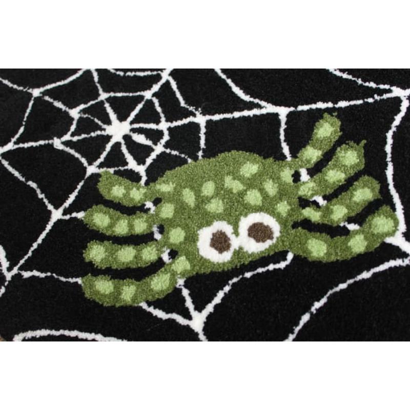 Keset Handtuft Laba - laba Halloween doormat lucu 40x60 cm