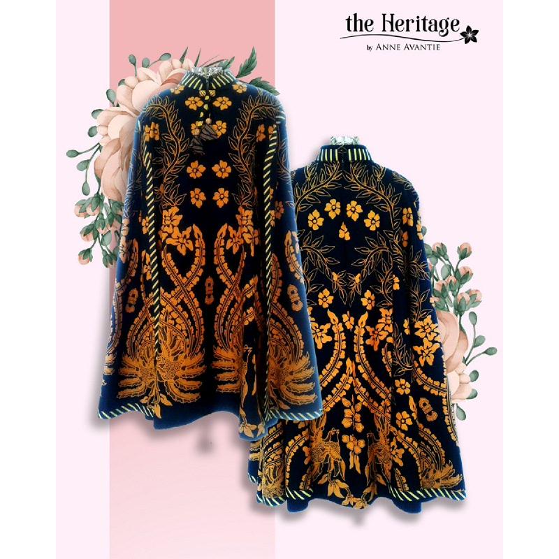 Anne Avantie Batik Dress RamaDewi AAM-D1501 Sogan