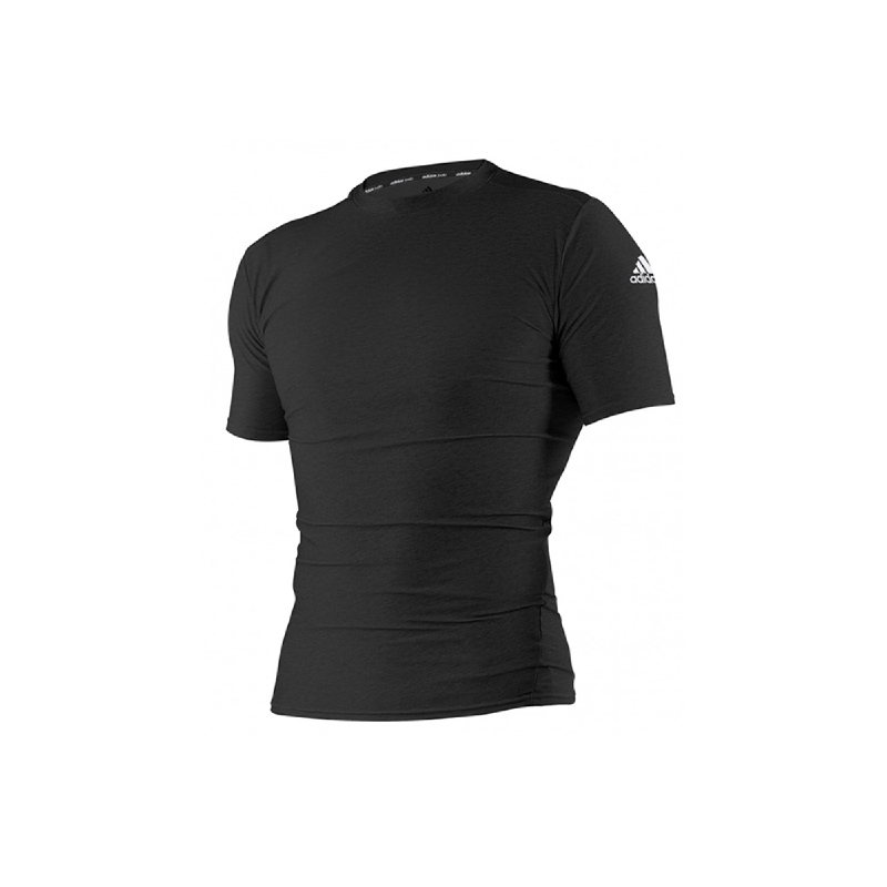 Adidas Combat Rash Guard Shirt  Adits312 Black