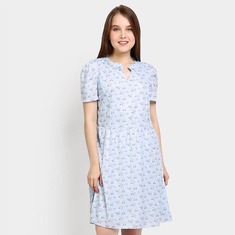 Elle EL-16-88328 Blue Dress