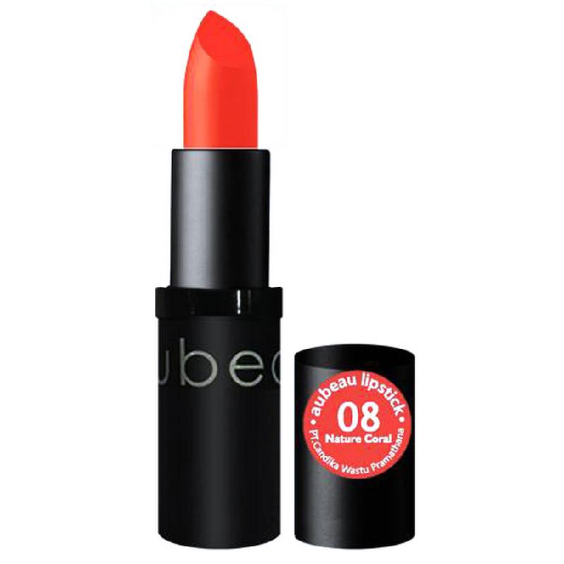 Aubeau Lipstick 08 – Nature Coral 4 Gr