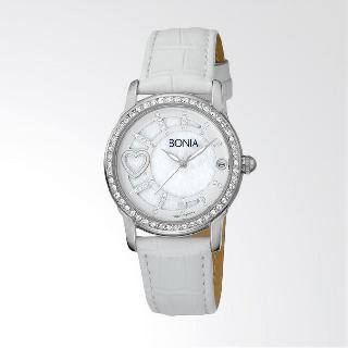 Bonia B10014-2359S Jam Tangan Wanita White