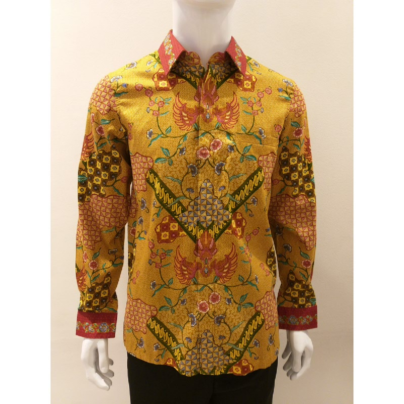 Asana Batik Long Sleeve LS16963GLD