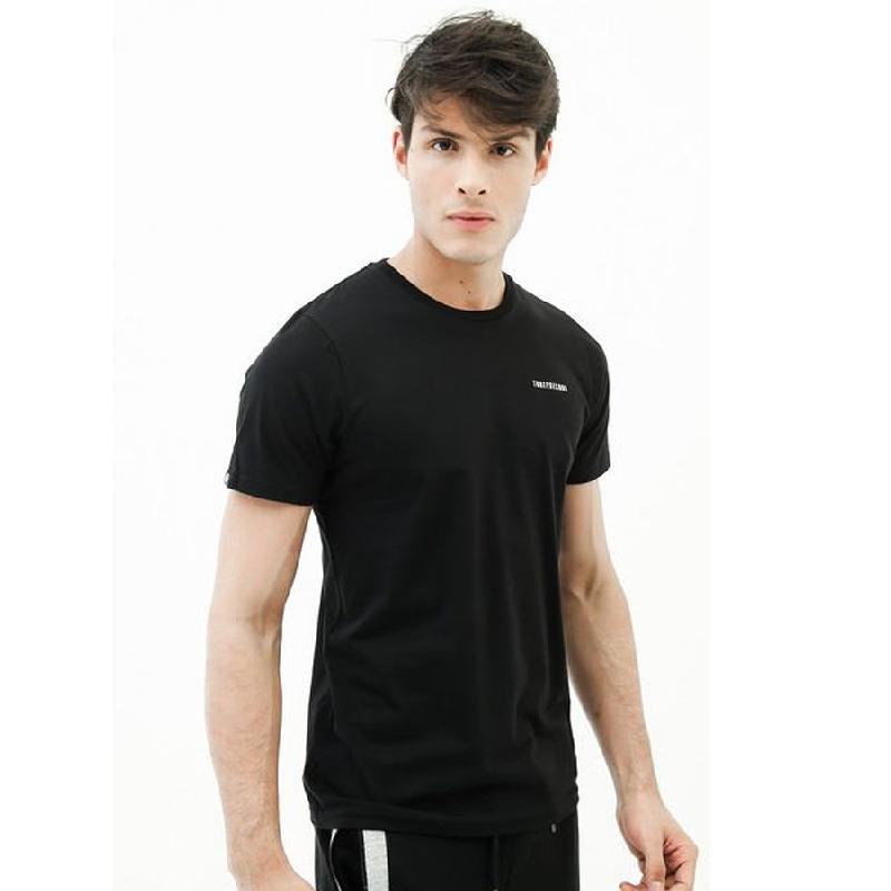 3second Men Tshirt T0203 Black