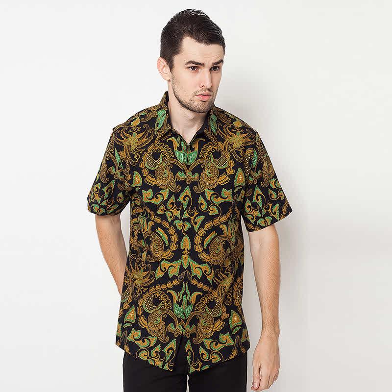 Batik Lengan Pendek A-SS-D169-TUR Turquoise