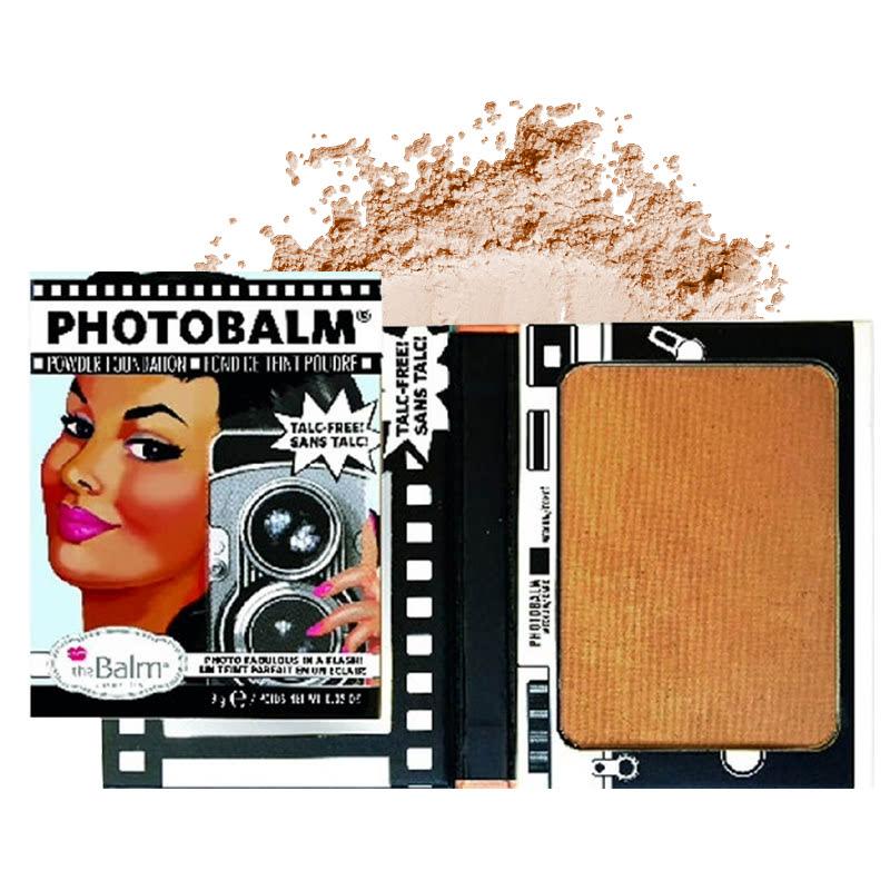 The Balm Photobalm Powder Foundation Medium Dark