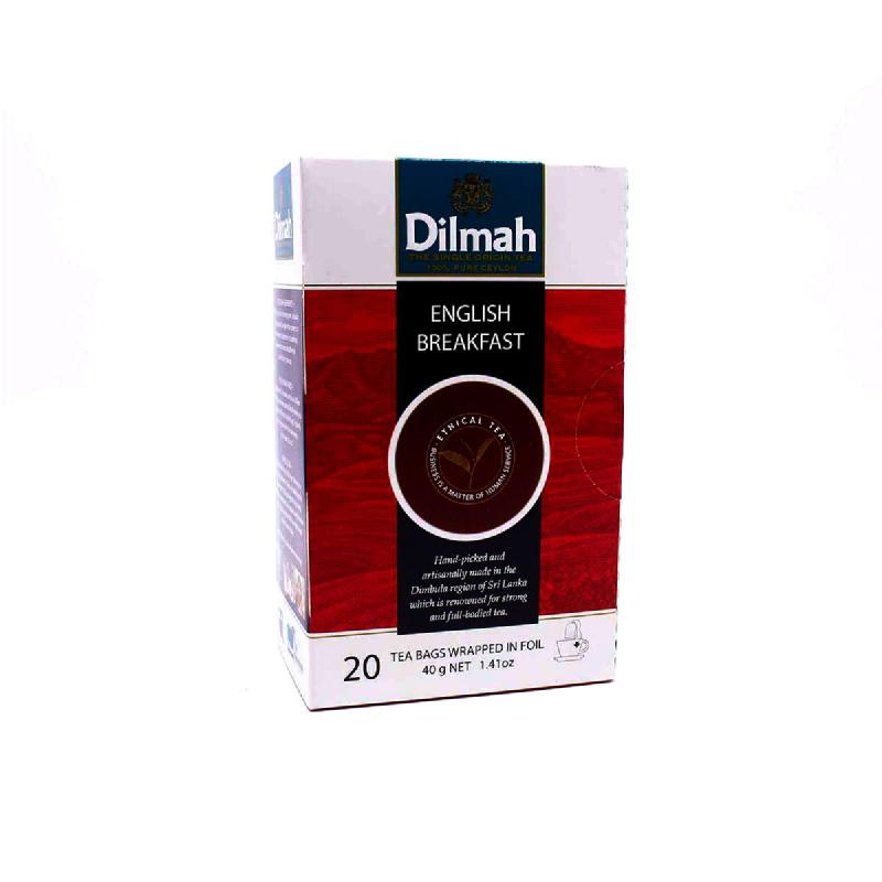 Dilmah Tea Eng Breakfast Bag 20X2Gr