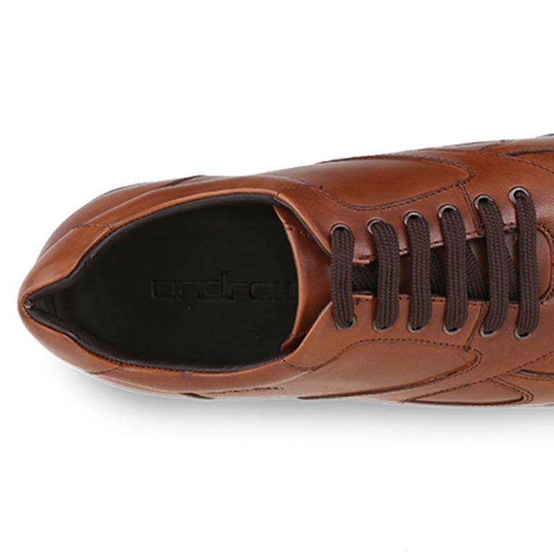 Andrew Claude Sneakers Pria Coklat