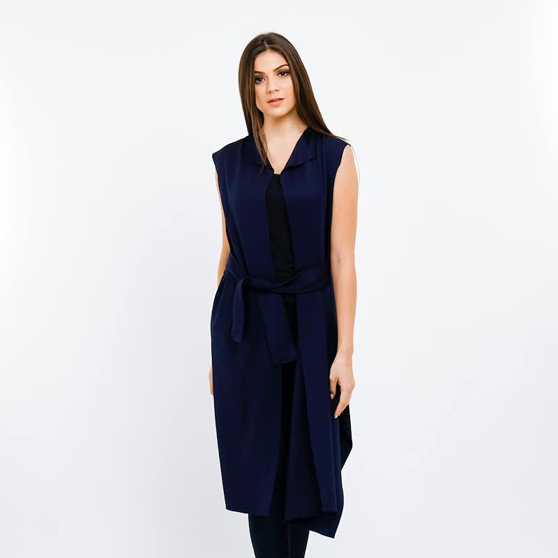 Basa Najia Outwear Dark Blue