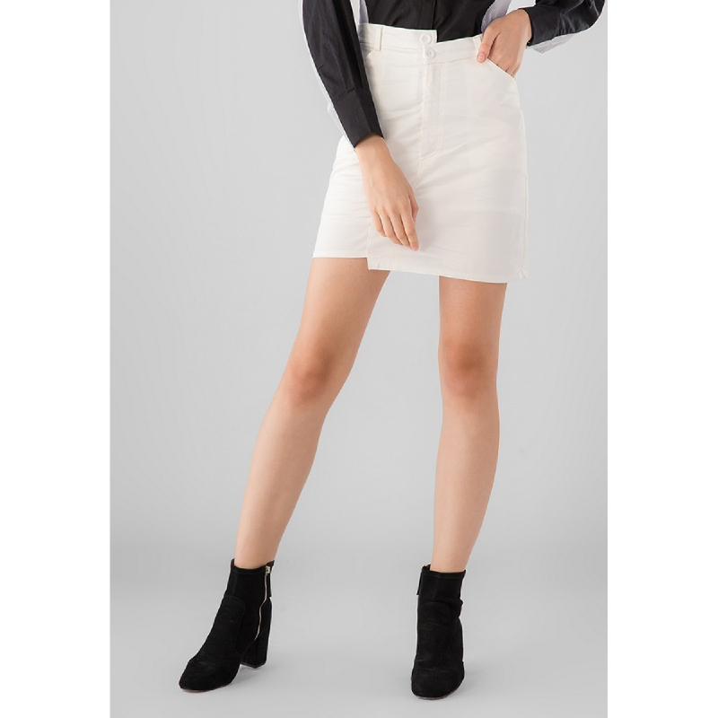 Lovadova Maeby Premium Skirt White