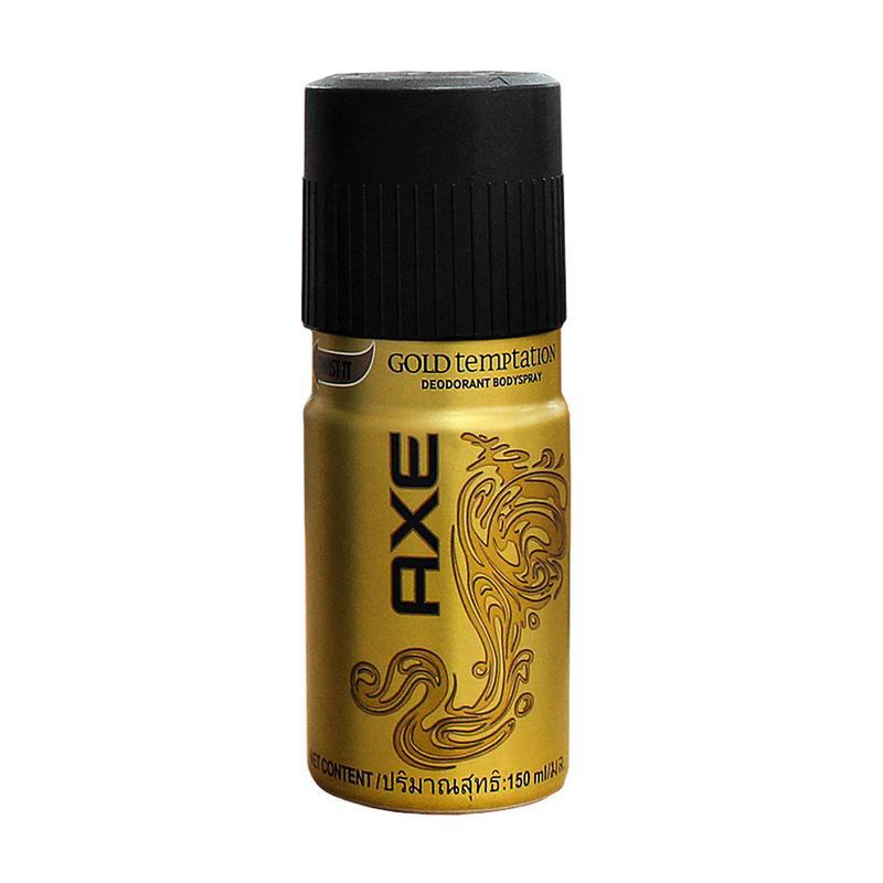 Axe Deodorant Spray Gold Temptation - 150 Ml