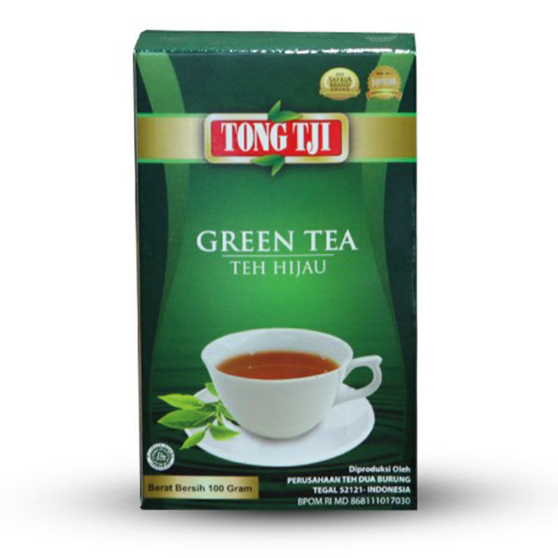 Tong Tji Bubuk Green Tea 100 Gr