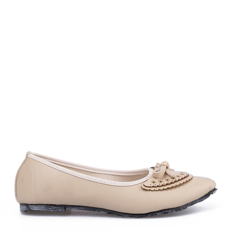 Anyolorich Flat Shoes BL06-Cream