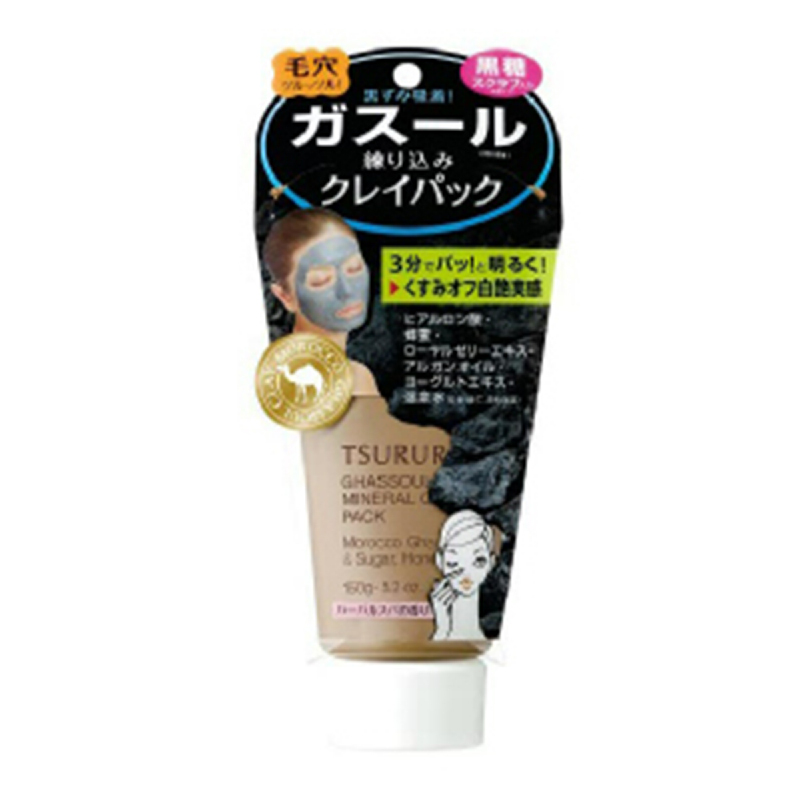 BCL Clay Mask Ghassoul Mineral Tsururi 150G