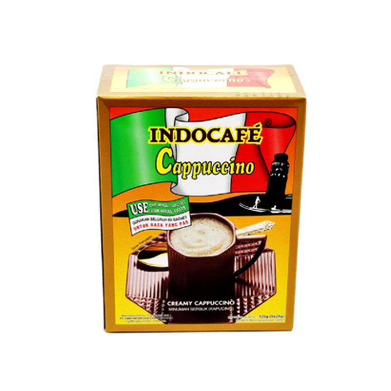Indocafe Cappuccino 5 X 25 Gr.