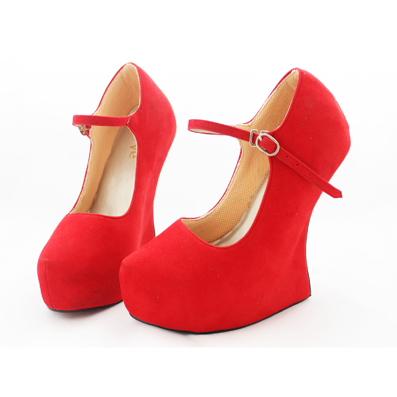 Alivelovearts Heels Swan Red