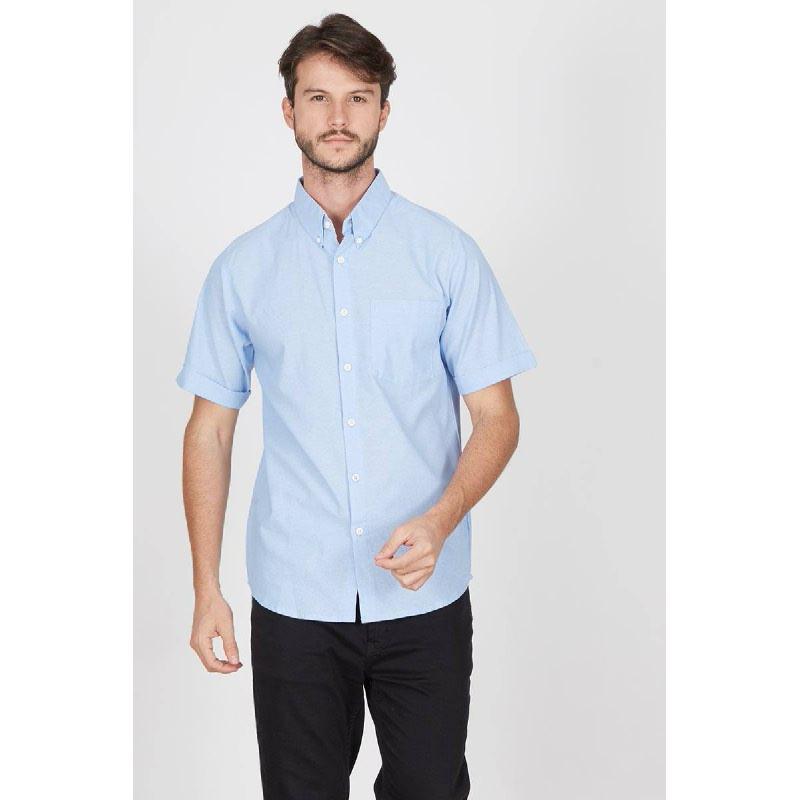 Men Erich Shirt Blue