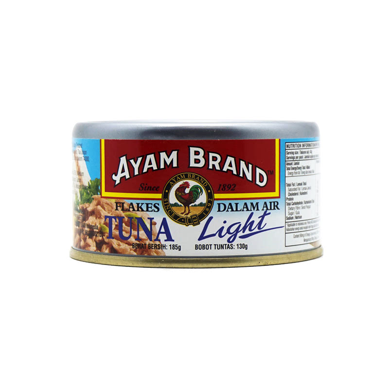 Ayam Brand Tuna Flake Light In W 185 Gram