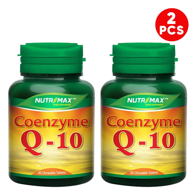 Buy 2 Bottle Nutrimax Coenzyme Q10 30 Tablet Kunyah