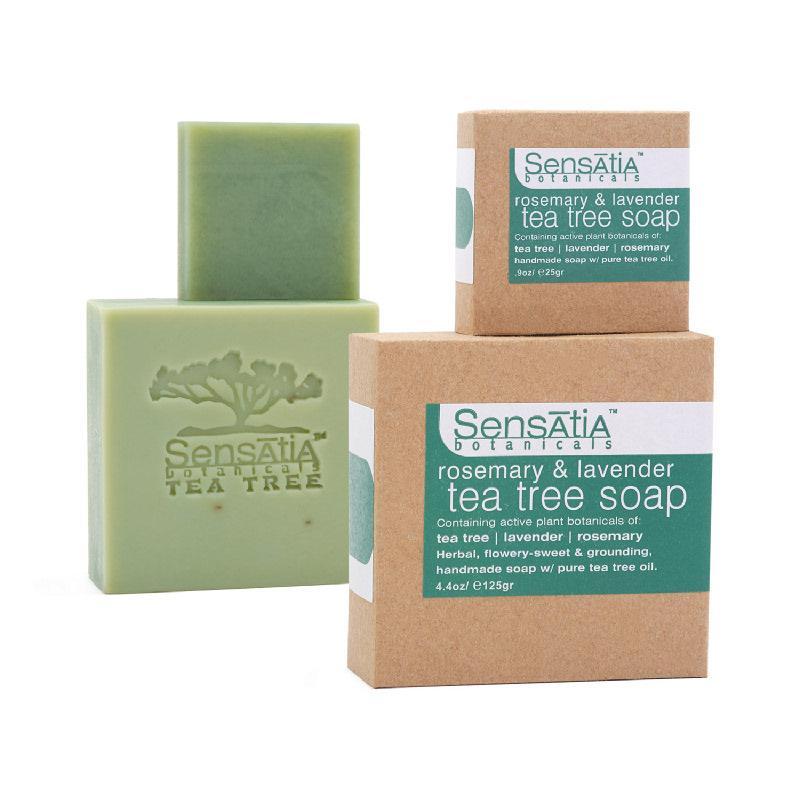 rosemary & lavender tea tree soap - 125gr