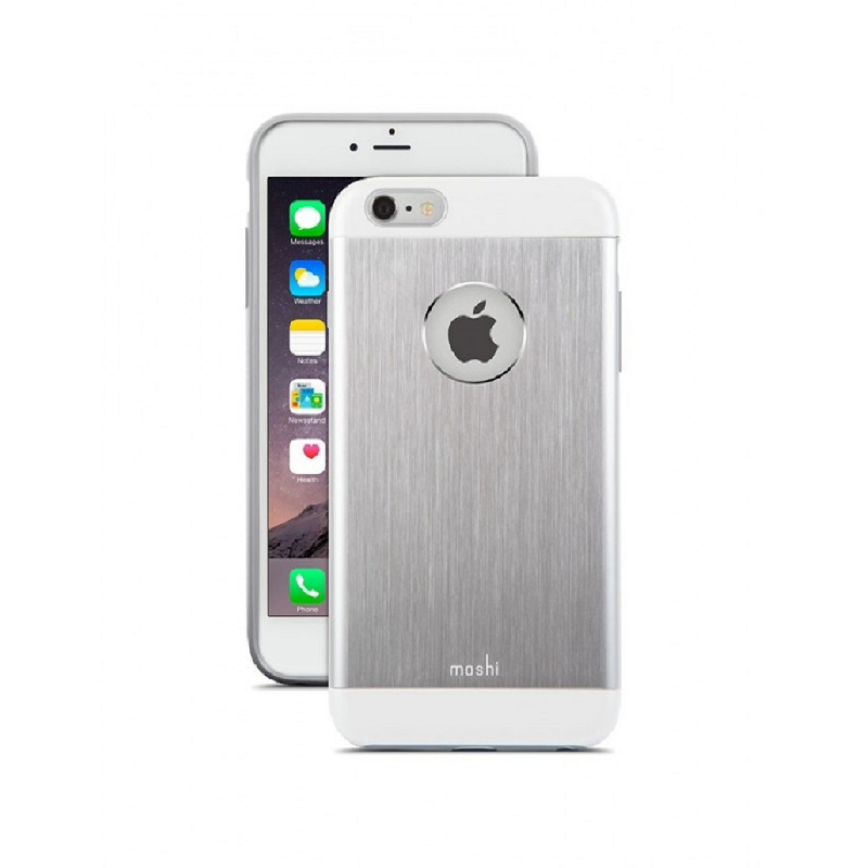 Moshi iPhone 6&6s Plus iGlaze Armour Silver