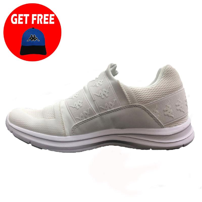 Kappa Authentic Mesh Sneakers-Black (FREE 1 Pcs Kappa Classic Avior Cap - Topi - BEBK)