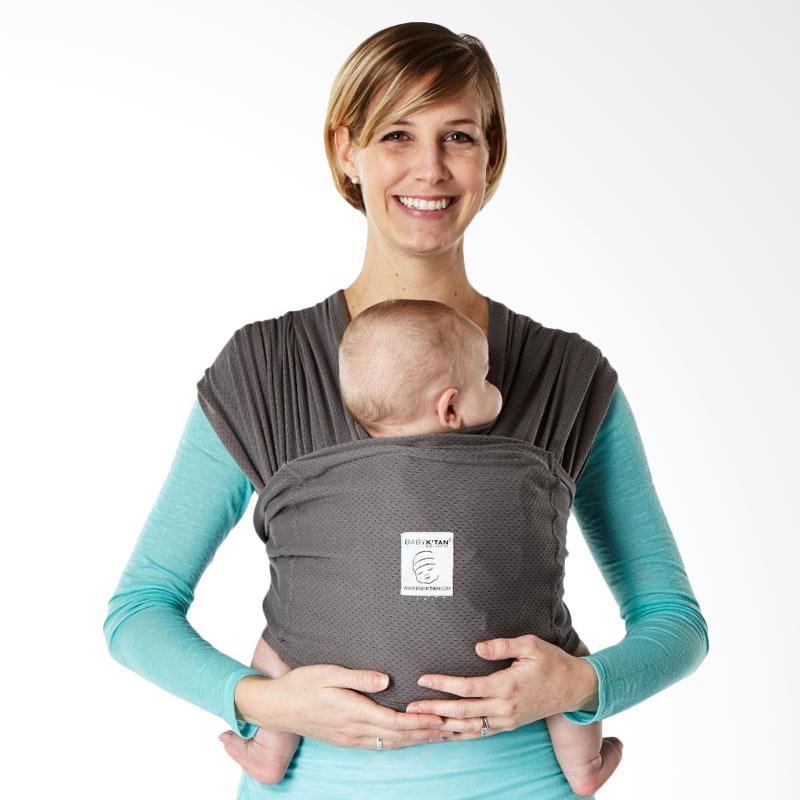 Baby K'Tan Breeze Gendongan Bayi - Charcoal [Size L]