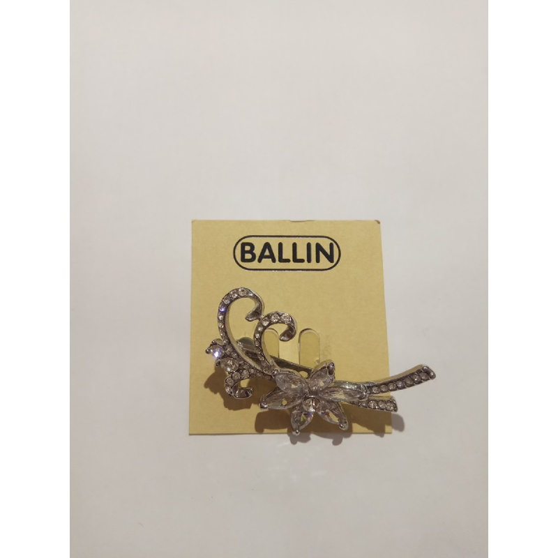 Ballin Women Brooch ML-BR7423S Silver