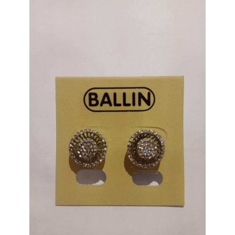 Ballin Women Earing YZ-E640S Silver