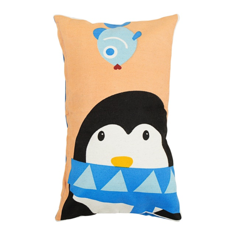 Beam and Co Animal Cushion Cover 50x30cm Penguin Case