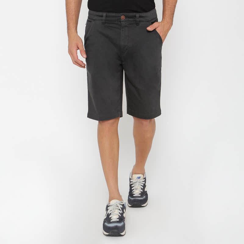 Loverzigo. Grey Cotton Officer Pant